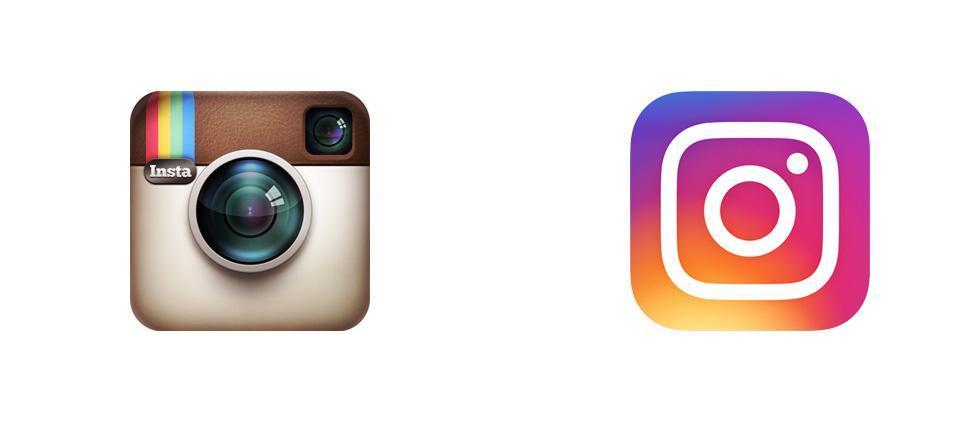 Instagram rebranding example
